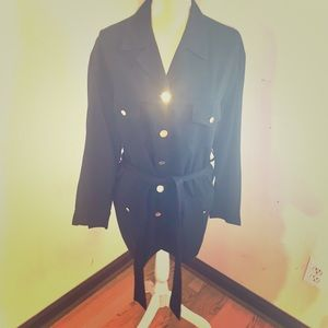 Vintage Burberry four pocket utility jacket
